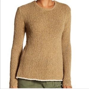NEW James Perse Cotton Linen Crew Sweater